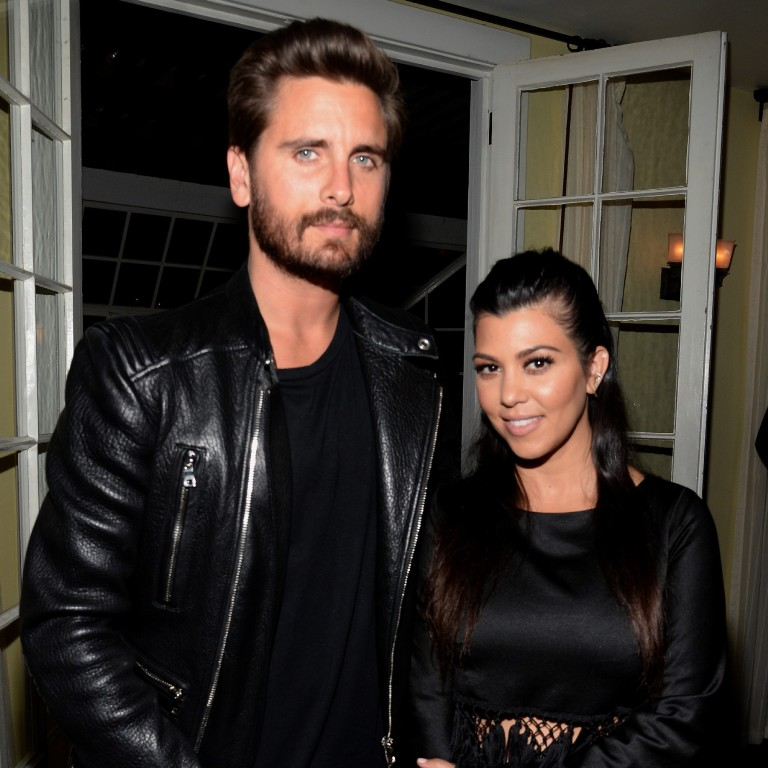 Kourtney Kardashian-Scott Disick-lasopa
